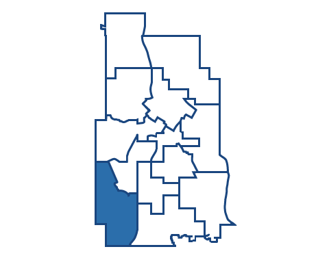 Ward 13 encompasses the southwest corner of Minneapolis.